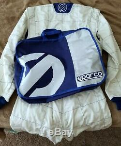 SPARCO PROFI X-5 Racing Suit (Size 52) FIA Rated Nomex and Kevlar NEW