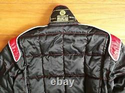 SPARCO Race Karting Suit CIK-FIA Approved Nouveau 1 Size 52 Black & Red. Vintage