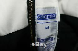 SPARCO Racing SUIT Multi Layer SFI 3-2A/5 Black Driving 1 Piece Race MEDIUM NEW