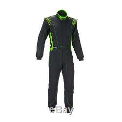 SPARCO VICTORY RS-4 black/green Race Suit (FIA homologation)- 48 EU