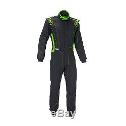 SPARCO VICTORY RS-4 black/green Race Suit (FIA homologation) size 48