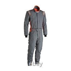 SPARCO VICTORY RS-4 grey/orange Race Suit (FIA homologation) s. 56