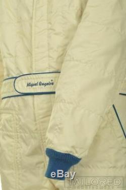 SPARCO Vintage VTG Beige1986 RACE SUIT RALLY OVERALL Italy RARE Size 56