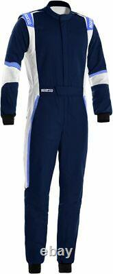 SPARCO X-LIGHT FIA Racing Suit navy blue X-Cool breathable Rally 48-66 XLIGHT
