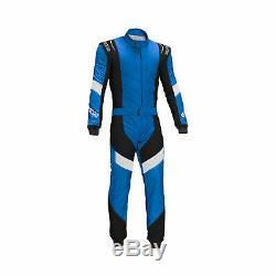 SPARCO X-LIGHT RS-7 Race Suit blue (with FIA homologation) size 56 NEW