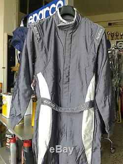 SUIT SPARCO CAR HOMOLOGATED FIA x-light evo3 tg 54 RACING RALLY RACE grey 54
