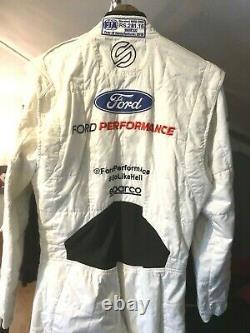 Sebastien Bourdais, 2019 Ford Gt Lemans 24 Drivers Suit, Signed, Ganassi Racing