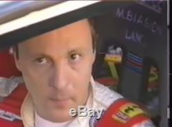 Sedile-race Seat-baquet Sparco Miki Biasion Lancia Delta 16v Martini Racing 1990