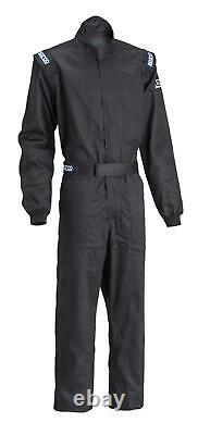 Sparco 001051D2MNR Racing Suit Driver Single Layer Size Medium Black
