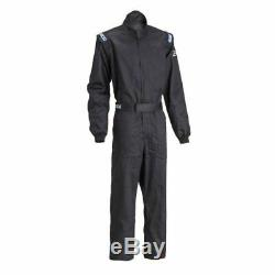 Sparco 001051D6XLNR Driving Racing Suit SFI 3.2A/1 Men's 3X-Large Size Black NEW