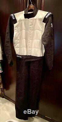 Sparco 001056JT1SRSBI Jade Top Racing Suit 3-Layer, Red, Size Medium