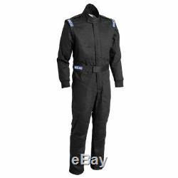 Sparco 001059J2MNR Driving Racing Suit Jade 3 Black Medium NEW