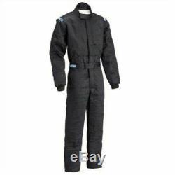 Sparco 001059J5XLNR Driving Racing Suit SFI 3.2A/5 Men's 2X-Large Size Black