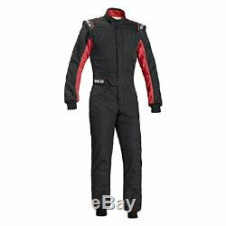 Sparco 00109152NRRS Sprint RS-2.1 Racing Suit Black/Red Medium