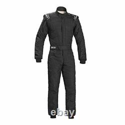 Sparco 00109156NR Sprint RS-2.1 Racing Suit Black SFI 3.2A/5 Size 56