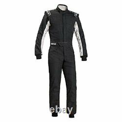 Sparco 00109156NRBI Sprint RS-2.1 Racing Suit Black/White SFI 3.2A/5 Size 56