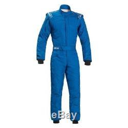 Sparco 00109158AZ Sprint RS2.1 Series One Piece Racing Suit 58 Size Blue