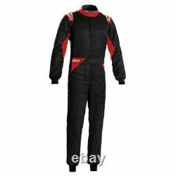 Sparco 00109254NRRS Driving Racing Suit Sprint Black / Red Medium/Large NEW