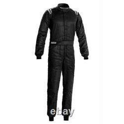 Sparco 00109260NR Driving Racing Suit Sprint Black X-Large NEW