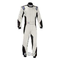 Sparco 001124H Eagle RS-8 Nomex Racing Suit, Red, 48