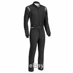 Sparco 0011282B52NRNR Conquest Driving Racing Suit Men's Medium (52) Black