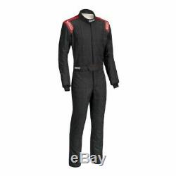 Sparco 0011282B52NRRS Race Drive Suit Conquest Boot Cut Blk/Red Medium NEW