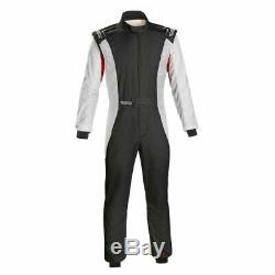 Sparco 001128SFB54NRBR Competition Racing Driving Safety Suit Size 54 Medium
