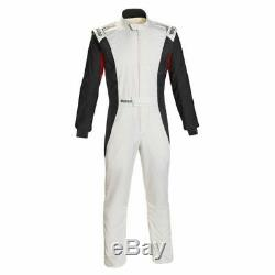 Sparco 001128SFB56BINR Competition Racing Driving Safety Suit Size 56 Large