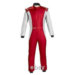 Sparco 001128SFB56NRBR Competition Racing Suit, Black, Size 56