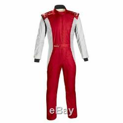 Sparco 001128SFB58RSBN Competition Racing Driving Safety Suit Size 58 Large