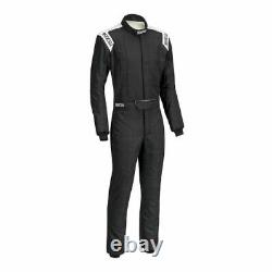 Sparco 00116658NRBI Driving Racing Suit Conquest Blk/White Large / X-Large NEW