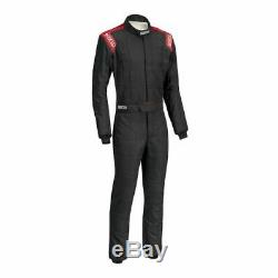 Sparco 00116660NRRS Driving Racing Suit Conquest Blk/Red X-Large NEW