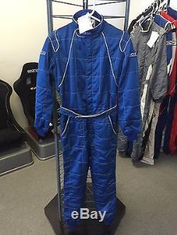 Sparco 2 Racing Suit Blue (50)