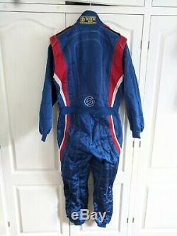 Sparco 3 Layer Nomex Rally Race Fireproof Racesuit Size 54 FIA / MSA Compliant
