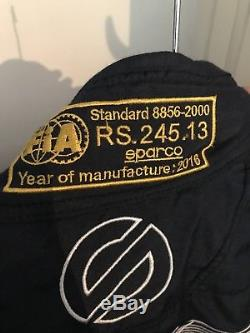 Sparco 8856-2000 FIA Race Suit 56 Aston Martin Le Mans