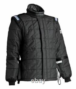 Sparco Air-15 SFI 3-2A/15 Drag Racing Suit Jacket Black CLEARANCE SALE STOCK 21