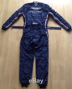Sparco Aston Martin Racing Suit 2016 Navy Blue Size 56 FIA 8856 2000