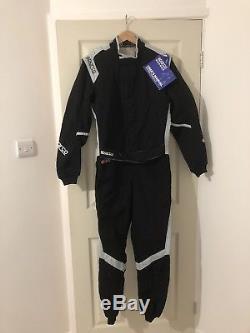 Sparco Black Race Suit RS. 267.15. Ho Co Tex 2018 Size 52 FIA Standard 8856 2000