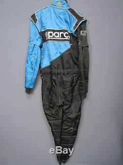 Sparco Blue Racing Suit Size 56