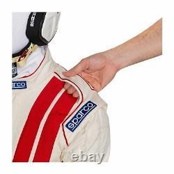 Sparco CLASSIC MY19 Race Suit White (FIA homologation) Genuine 56