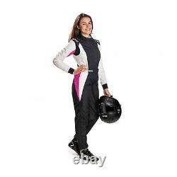 Sparco COMPETITION LADY Race Suit Black (FIA homologation)- 44 EU