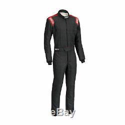 Sparco CONQUEST R-506 Race Suit Black/Red (FIA homologation) s. 54