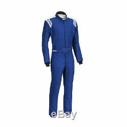 Sparco CONQUEST R-506 Race Suit Blue (FIA homologation) Genuine 60