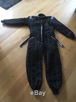 Sparco Car Race Suit Rally Size 60 L Large Black R506