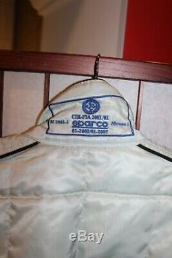 Sparco Cik-Fia 2001 F1/Track/Rally/Kart Grey overall race suit 56 (ALY)