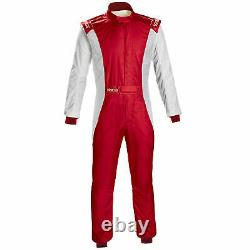 Sparco Competition FIA Approved Race Rally Suit Red / White Size 48