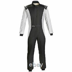 Sparco Competition FIA Approved Race Suit Black / White Size 60
