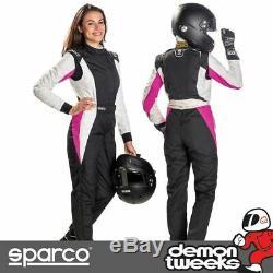 Sparco Competition Plus RS-5.1 Women's 3 Layer Race Suit Flame Resistant FIA