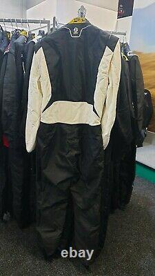 Sparco Competition RS-4.1 Racing Suit / Black and White / Size 56