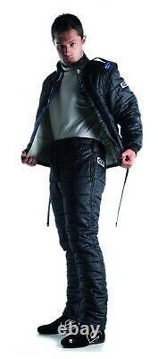 Sparco Drag Racing Suit Set X-15 Black SFI Fire Resistant Nomex + Straps SALE